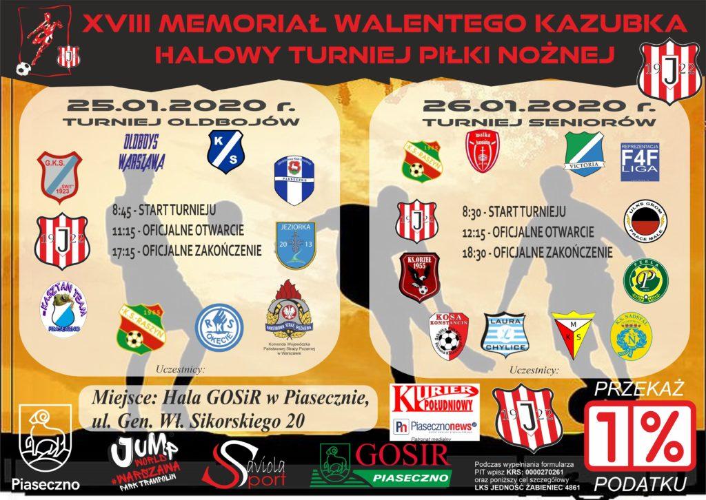 XVIII Turniej Walentego Kazubka